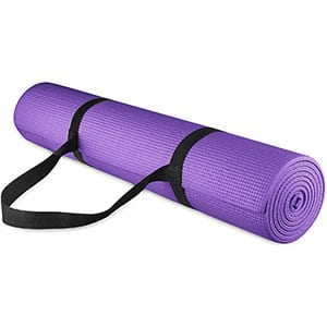 BalanceFrom GoYoga All-Purpose Mat, 68 Long 24 Wide With Carrying Strap Included