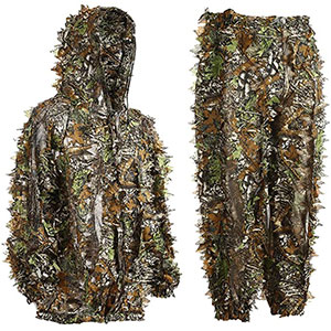 Ghillie suits for jungle hunting, airsoft, wildlife