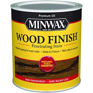 Minwax 70012444 Wood Finish Penetrating Stain, furniture, cabinets