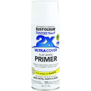 Painter's Touch Multi-Purpose White Primer Spray, Low Odor, Resist Chips
