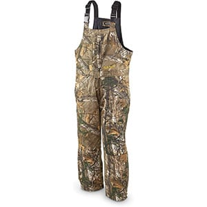 Realtree Men's Insulated Bib Xtra