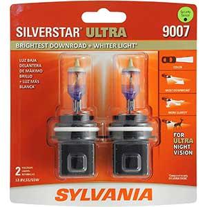 SilverStar Ultra Brightest Downroad Halogen Headlight Bulb
