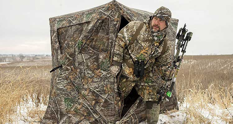 best ground blind for crossbow hunting