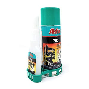 Akfix 705 Fast Adhesive CA Glue with Activator