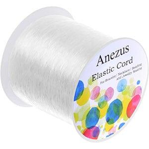 Anezus 0.7mm Elastic Bracelet String Beading