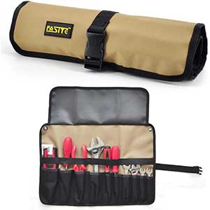 FASITE Tool Roll Pouch, Multi Pockets Organizer PTN055