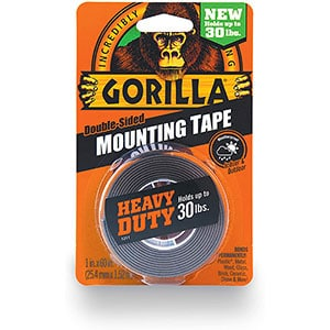 Gorilla Heavy Duty Double Sided Mounting Tape