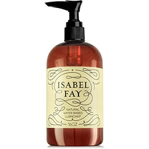 Isabel Fay Natural Lubesfor Sensitive Skin- No Parabens/Glycerine