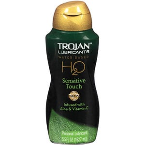 Trojan Lubes for Sensitive Skin, Non-Sticky5.5Oz