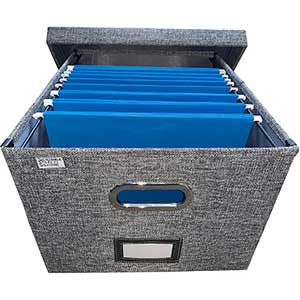 Sustainable Office Solutions Collapsible File Box