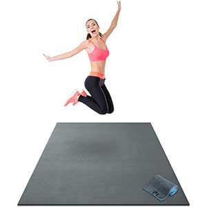 Gorilla Exercise Mat For HIIT | Extra Large | 6x4'
