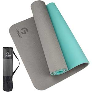 Gruper Exercise Mat For HIIT | Eco-Friendly | 72x24