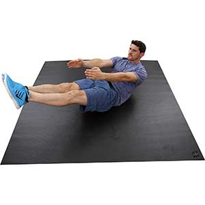 Square36 Exercise Mat For HIIT | Durable | 6x6'