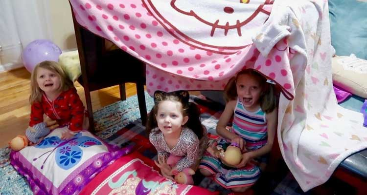 How To Make A Fort For Kids