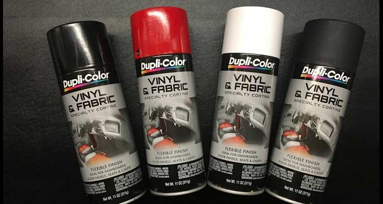 Vinyl dye vs Spray Paint