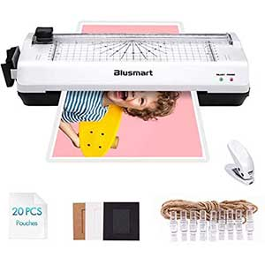Blusmart Laminator for Home Use | Wider Inlet