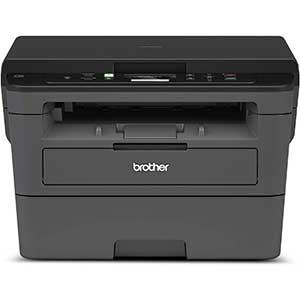 Brother Monochrome Duplex Laser Printer HL-L2390DW | Flat-Bed