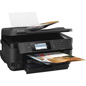 Epson Workforce 7710 Inkjet Printer For Sublimation | Reliable