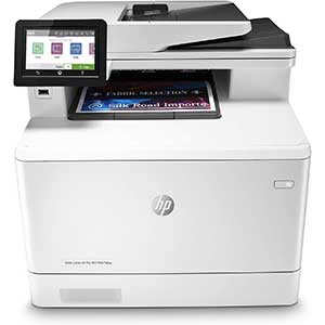 HP M47FDW Laser printer for business cards | Multi-Function