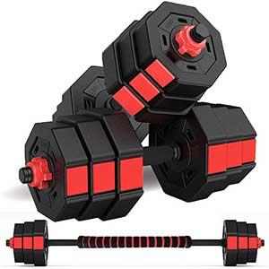 Wolfyok Fitness Weight Set For Beginners | Versatile Design