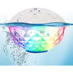 Blufree Waterproof Bluetooth Speaker | Colorful Lights