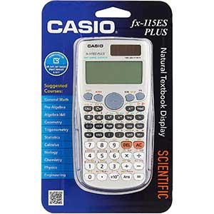 FX-115 ES Plus Casio Scientific Calculator | Natural Textbook Display