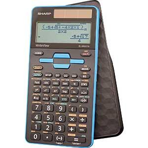 Sharp Calculators EL–W535TGBBL Scientific Calculator | 422 functions