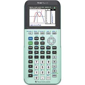 Texas Instruments TI-84 Plus CE Graphing Calculator   Backlit display