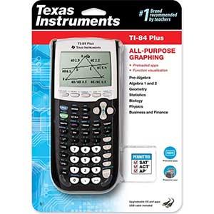 Texas Instruments TI-84 Plus Graphics Calculator   Enhanced Graphing