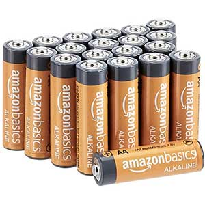 Amazon Basics AA High-Performance Alkaline Batteries | Value Pack