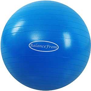BalanceFrom Birthing Ball   Slip Resistant   Anti-Burst