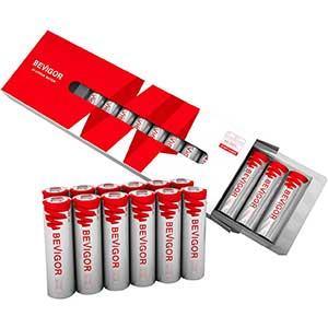 Bevigor Lithium AA Iron Double Batteries | Long Lasting